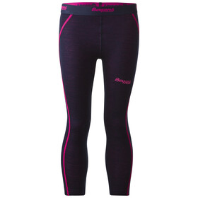 Bergans Kids Akeleie Tights Navy/Hot Pink